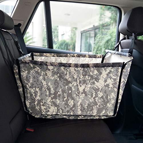 er Auto Booster Sitzbezug Einzelsitz, Klapp Sicherheit Atmungsaktive Sitzbezug Reisetasche Kleine Welpen (Color : E) ()