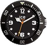 Ice-Clock Wall Clock, Black