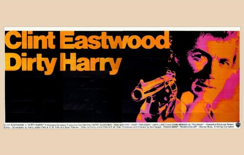 Dirty Harry Plakat Movie Poster (11 x 17 Inches - 28cm x 44cm) (1971) D