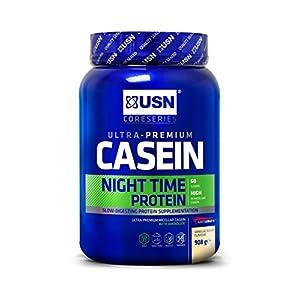 USN Casein Night Time Protein, Vanilla, 908 g