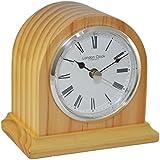 London Clock - Oak Finish Arch Mantel Clock