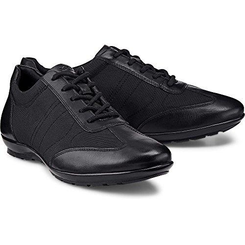 Geox Herren Uomo Symbol B Sneaker Schwarz