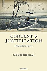 Content and Justification: Philosophical Papers