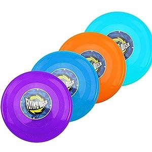 com-four® 4X Frisbee für Kinder und Erwachsene - Wurfscheibe auch für Hunde -...