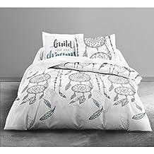 today parure de lit pour 2 personnes coton multicolore 240x260 cm - Parure De Lit 240x260