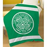 CELTIC FOOTBALL CLUB CFC GLASGOW FLEECE BLANKET THROW MATCHES DUVET OFFICIAL NEW
