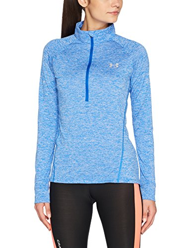 Under Armour Women's Tech 1/2 Zip-Twist Long-Sleeve Shirt