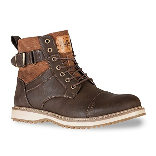 mens-real-leather-ankle-boots-combat-zip-up-formal-casual-smart-lace-shoes-uk10-brown