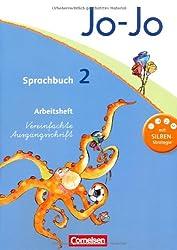 Jo-Jo Sprachbuch - Aktuelle allgemeine Ausgabe: 2. Schuljahr - Arbeitsheft in Vereinfachter Ausgangsschrift: Mit Lernstandsseiten