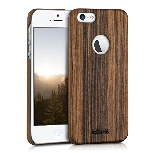custodia iphone legno