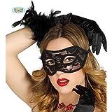 Guirca Fiestas GUI12701 - Sexy Schwarze Maske