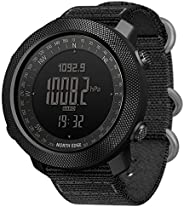 Men's Outdoor Digital Sports Watch with Altimeter Barometer Compass World Time 50M Waterproof Pedometer Wr