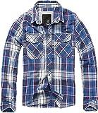 Brandit Checkshirt Longsleeve Blue-red-White