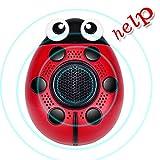 KYSON LEE Personal Alarm keychain130db Selbstverteidigung SOS Notfall Human Voice Sicherheit Sirens für Frauen/Senioren/Kids/Adventurer/Nacht Arbeitnehmer/Explorer mit Taschenlampe Lautsprecher Funktion