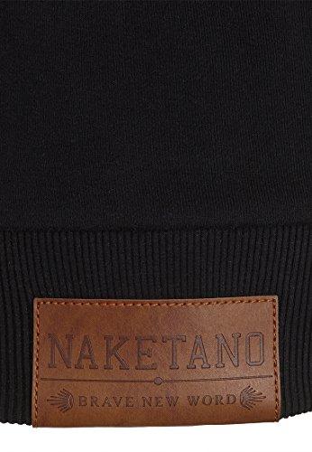 Naketano Female Zipped Jacket Der letzte seiner Art III Black