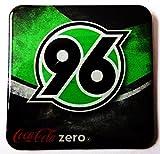 Coca Cola Zero - Fußballvereine - Hannover 96 - Kühlschrankmagnet 6 x 6 cm