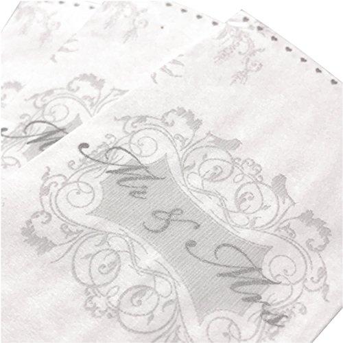 100 Taschentücher für Freudentränen auf der Hochzeit (100) - 2