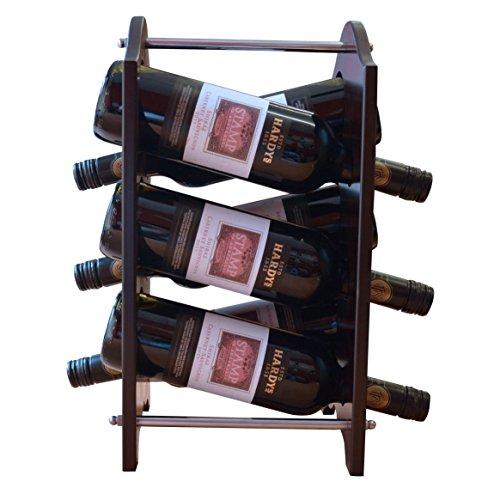 Bar-display-ständer (NEU Für 6Flaschen Wein Home/Küche/Bar Display Ständer Rack Halterung (US048))