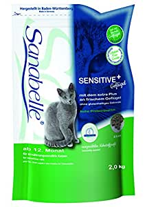 Sanabelle 64076 Katzenfutter Sensitive 2 kg