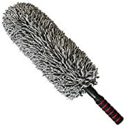 Car Microfiber Duster Cleaning Cloth car Care Clean Brush Dusting Tool Microfibre Wax Polishing Detailing Towe