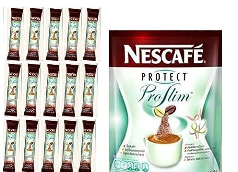 NESCAFE PROTECT PROSLIM DIET SLIMMING COFFEE 15 SACHETS