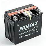 Numax ytx12bs Batterie de moto, scooter, neige et jet ski, ATV Quad, Tondeuse à Gazon