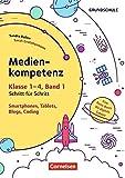 Medienkompetenz Schritt für Schritt - Grundschule: Band 1 - Smartphone, Tablets, Blogs, Coding: Eine Reise durch die digitale Galaxie. Kopiervorlagen