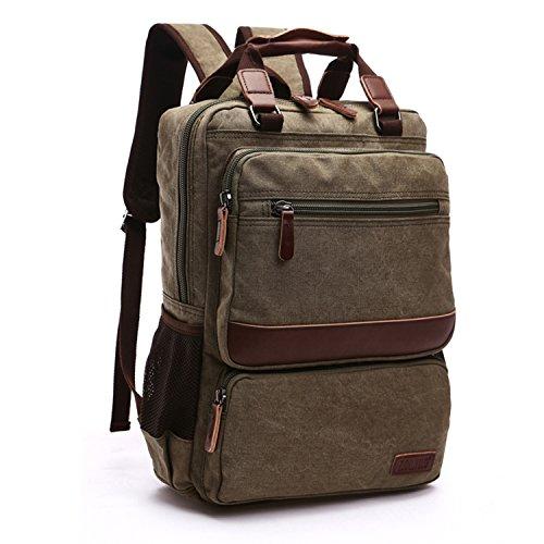 42f95c1edd854 Outreo Weekender Daypack Herren Rucksäcke Freitag Tasche Schulrucksack  Vintage Rucksack Schultaschen Sporttasche Reiserucksack Backpack für  Reisetasche