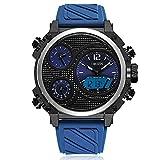 HWCOO AD1801 Casual Silikonband Quarz elektronische Uhr Herrenuhr ( Color : 5 )