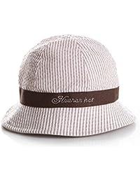 Cappellino da bimbo a con laccetto in cotone da allacciare sotto al mento 81aed4ac33f6