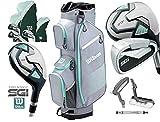 Wilson PROSTAFF SGi Donna 2019 Completo 10 Pezzi Golf Set E PROSTAFF Golf Cart Bag Destra Mano