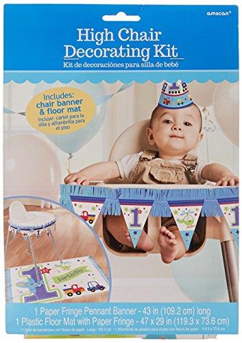 sten Geburtstag Hochstuhl Dekorieren Kit ()