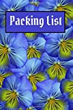 Packing List: Packing List To do List Checklist Manifesto Trip Planner Vacation Planning Adviser Itinerary Travel Diary Planner Organizer Budget Notes ... 100 Pages (Seamless pattern 3): Volume 3