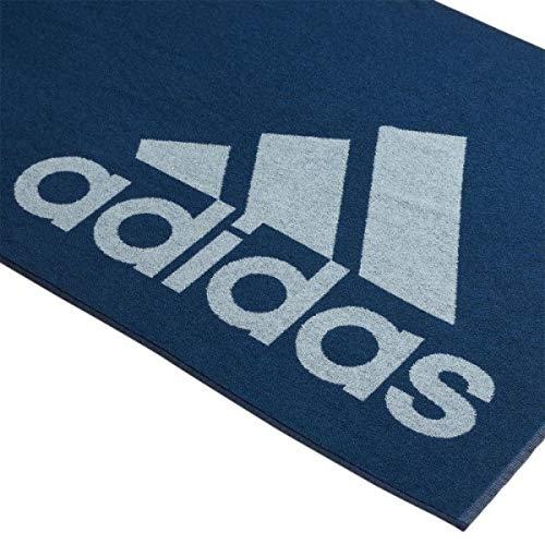 promo code e6bba 43bdf Adidas Towel L, Telo Nuoto Unisex – Adulto, Legend Marine Ash Grey s18