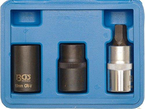 BGS Bremssattel-Spezial-Einsätze, 12,5 mm, 1/2 Zoll, 3-teilig, 1112 (Auto-spezial-werkzeuge)