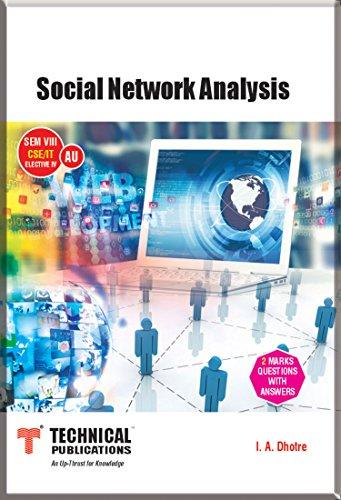 Social Network Analysis for AU (SEM -VIII CSE/IT ELECTIVE-IV Course-2013)