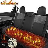 Cuscino Riscaldato Per Auto,Cuscino Riscaldante Per Seggiolino Auto 12v,Cuscino Sedile Riscaldato Per Auto Anteriore,Cuscino Riscaldato universale Sedile Riscaldamento tappetini (Sedile posteriore)