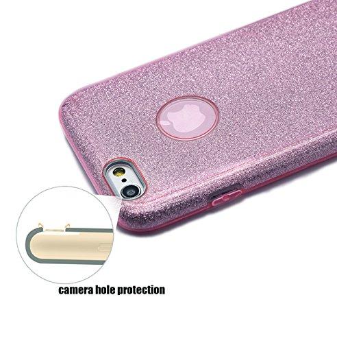 custodia iphone 6 silicone rosa