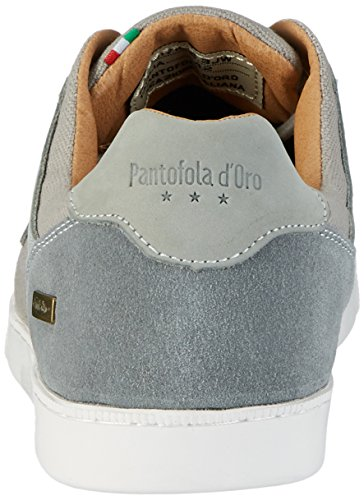 Pantofola d'Oro Herren Comacchio Canvas Uomo Low Top Grau (Gray Violet)