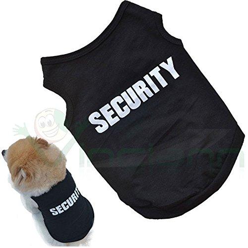 Vinciann T-Shirt Hund Sicherheit Kleidung Anzug Hunde Welpen GRÖßE L