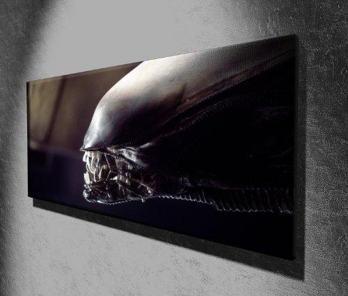Movie-Canvas-Prints-Bild-auf-Leinwand-Motiv-Alien-127-x-51-cm-aufhngfertig