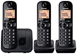 Panasonic KX-TGC213EB Trio DECT Phone with Call Blocking - Black - Best Reviews Guide