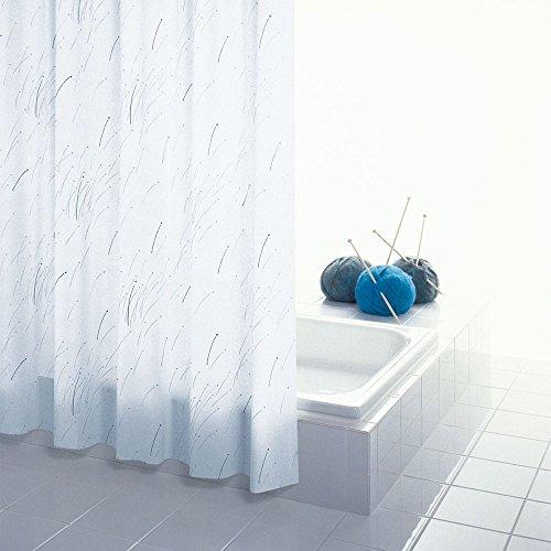 LYM &Badezimmerzubehör Duschraum Badezimmer Eva Duschvorhang Vorhang Tuch Schneiden Vorhang Wasserdichte Verdickung Schimmel (Farbe : A)