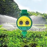 Fenghezhanouzhou Sistema Digital de Programas de Agua Jardín Electrónico Temporizador de Agua Válvula Solenoide Digital Regulador Inteligente de Rociadores de Riego