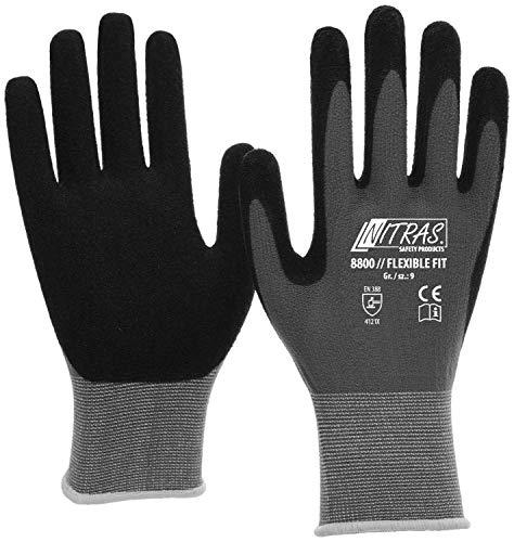 Nitras 8800 Herren-Schutzhandschuhe - Handschuhe für die Arbeit - EN 388 - L