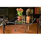 Idea Mesas de cristal y metacrilato mesa Carre 'de metacrilato