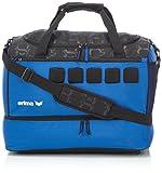Erima Sporttasche mit Bodenfach, New Royal/Schwarz, 50 x 30 x 37 cm, 50 Liter, 723584