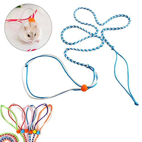 UEETEK Harnais réglable Hamster Leash and Collar...