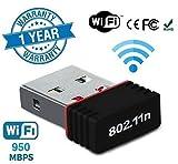 Jstbuy 600 Mbps Wireless USB WiFi Adapter (5.8GHz & 2.4GHz) Dual Band USB