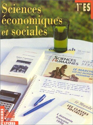 Fichier sciences économiques et sociales 1re ES